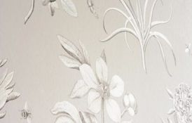 Etchings And Roses Wallpaper Detail1